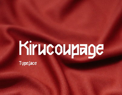 KIRUCOUPAGE   FREE FONT