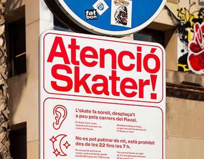 Atenció Skater!