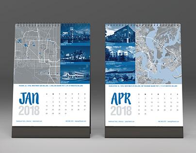 HTA//Desk Calendar