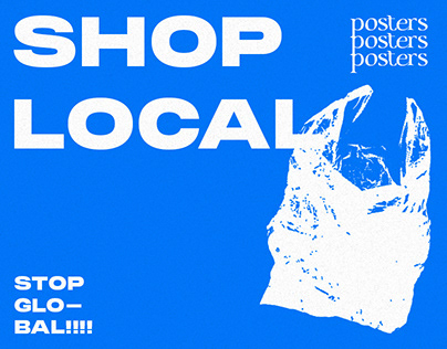 Shop Local Posters