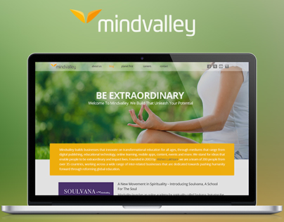 Redesign Challenges For Mindvalley
