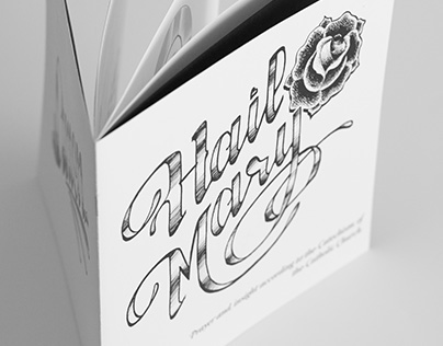 Hail Mary Typography Book