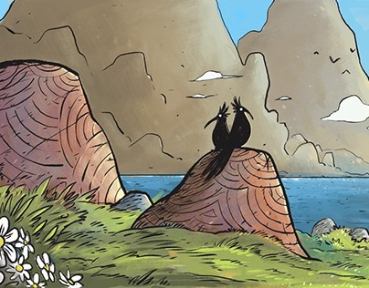 panel page 1 -The relic of Dragon. IDW Publishing