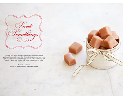 Layout Design: Souvenir Magazine, Holiday 2012
