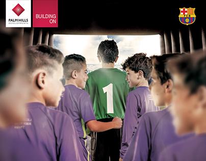 FCB Soccer School Session