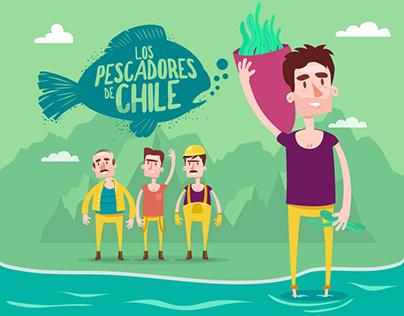 LOS PESCADORES DE CHILE