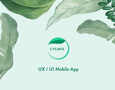 E-PLANTE Mobile App