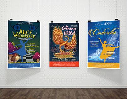 Ballet LaCrosse Show Posters