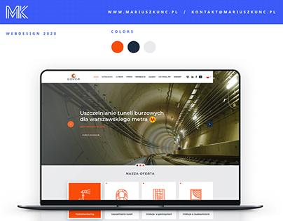 Cover / webdesign / company
