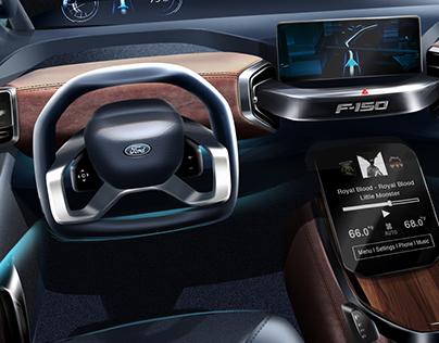 2025 Ford F-150 Interior
