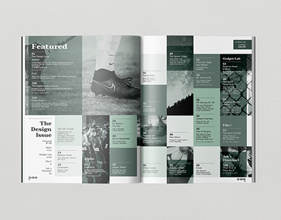 Wired Magazine Table of Contents
