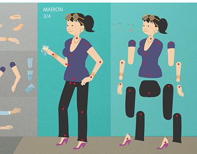 Ameliorez votre vie au Bureau. Animation After Effects