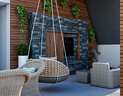 Mountain View Villas I Modern Roof Design