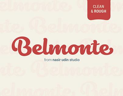 Belmonte - Delicious Bold Script Font