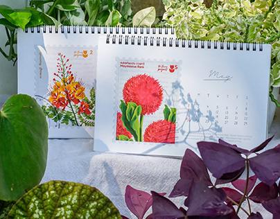 The Flower Project - calendar 2021