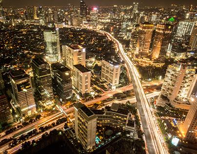 Jakarta Rooftop View