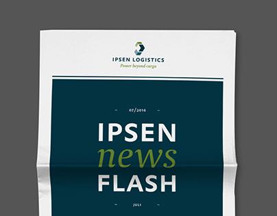 IPSEN LOGISTICS – Graphic Design
