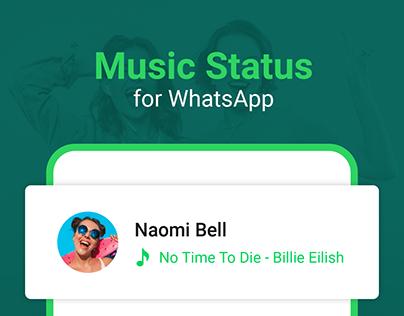 Music Status for WhatsApp