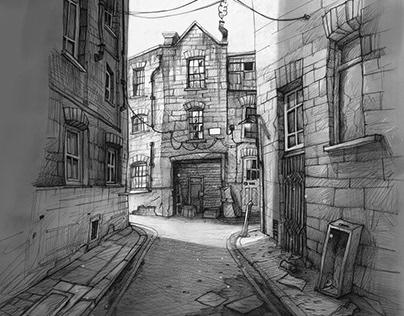 Architectural Conceptual Sketches