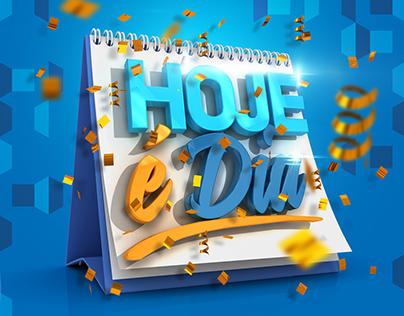 """Caixa - Campanha """"Hoje é Dia"""""""
