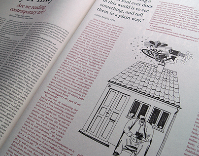 Editorial illustrations for Art Unlimited
