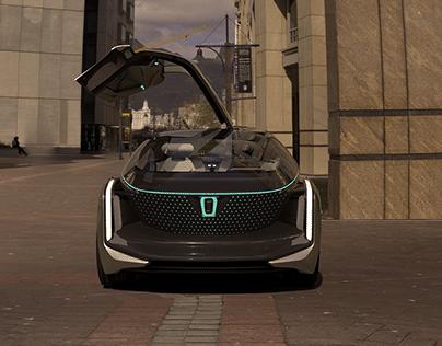 Concept Car Animation & Renderings (Shanghai Auto Show)