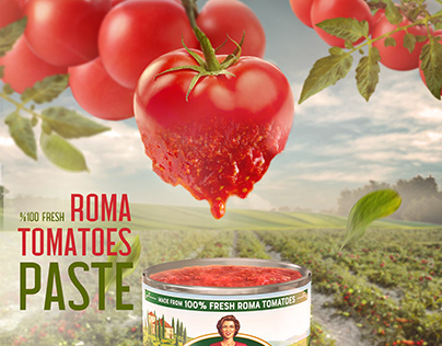 Tomatoes Paste Poster