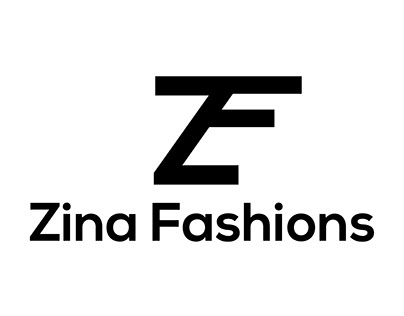 Z F Letter Business Logo