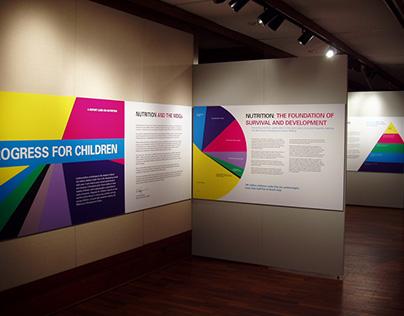 UNICEF Progress for Children Exhibit