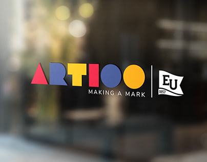 Art100 Motion Graphic and Merchandise