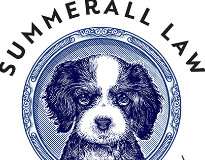 Summerall Law Logomark Illustrated by Steven Noble