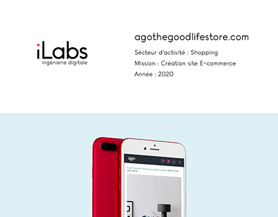 Site web : Ago the Good Life Store