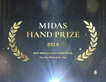2019 Midas Hand Prize Award in SalesFestival