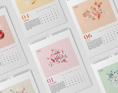 Calendar Design Project