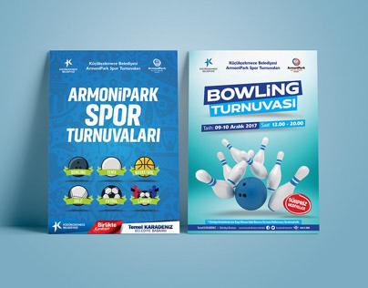 Küçükçekmece Belediyesi ArmoniPark Spor Turnuvaları