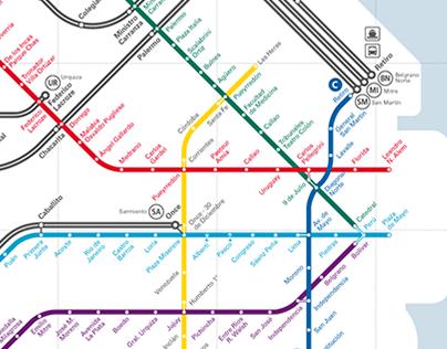 Buenos Aires Transit Diagram