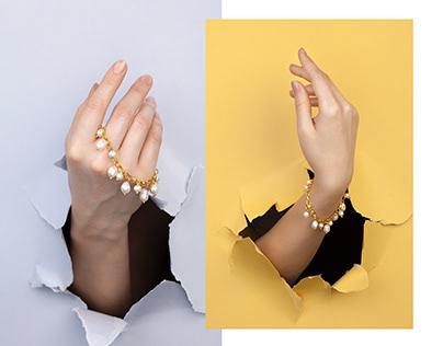 Pearl bracelets by Lenisa.handmade