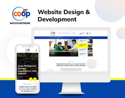 Website Design & Development for NATCCO Network