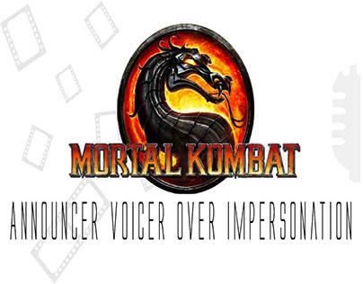 Mortal Kombat Announcer