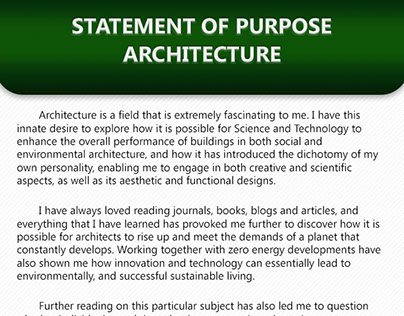 writing a statement of purpose for grad school