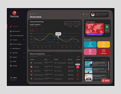 Banking UI Design