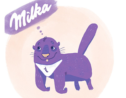 """If """"Milka"""" made an order for a character brand"""