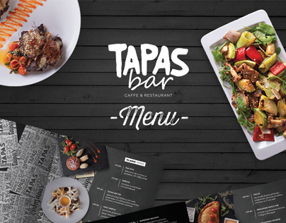 Tapas Bar - Menu
