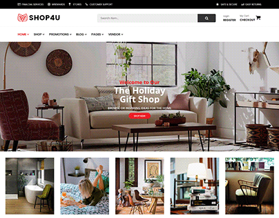 Shop4U Free - Free MarketPlace WordPress Theme
