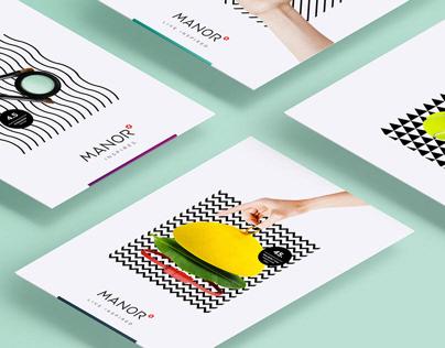 MANOR | Rebranding