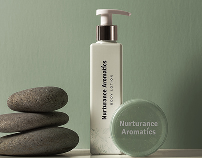 Nurturance Aromatics Logo Design