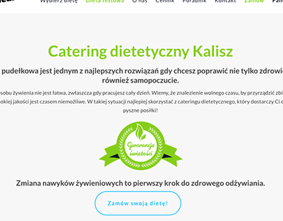 Catering dietetyczny Kalisz
