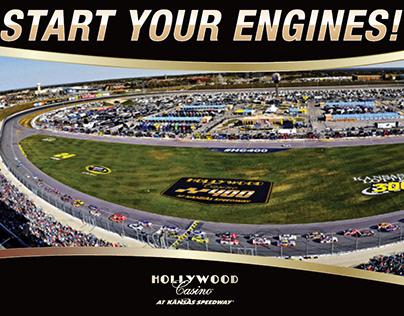 Race Event Postcard