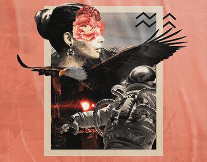 PASSAGE   Collage Art