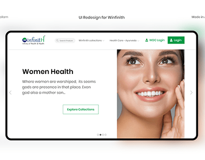 Redesign of random website